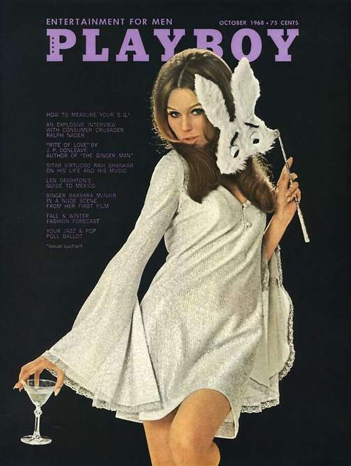 The Playboy magazine cover from November 1968.
