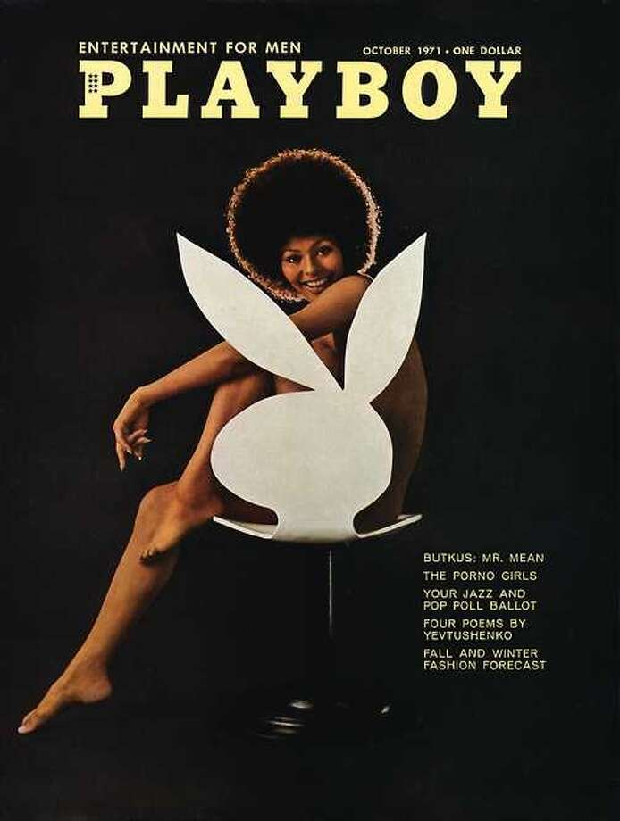 The Playboy magazine cover from October 1971.