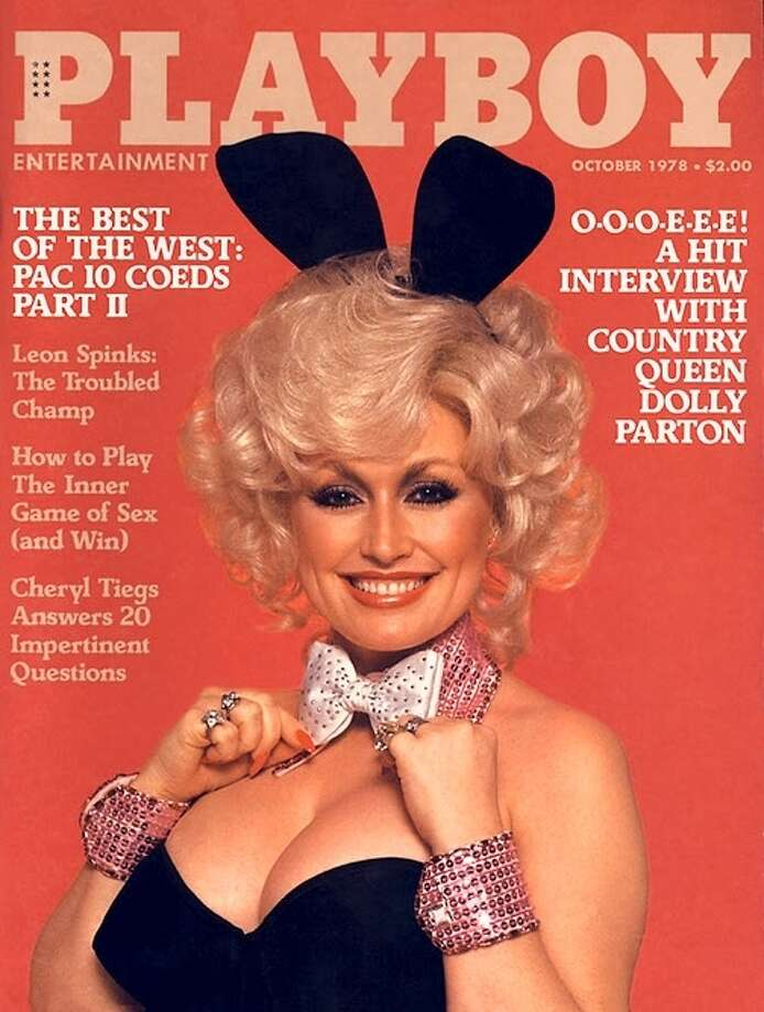 Singer and songwriter Dolly Parton made her Playboy debut in October 1978.