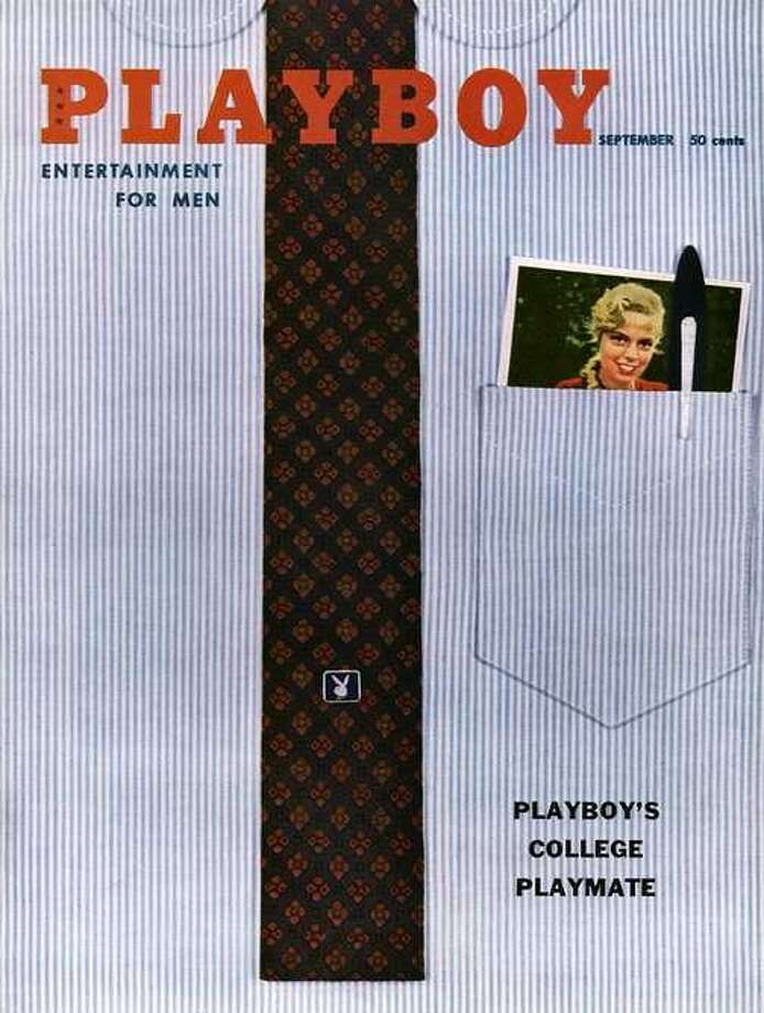 The Playboy magazine cover from September 1958.