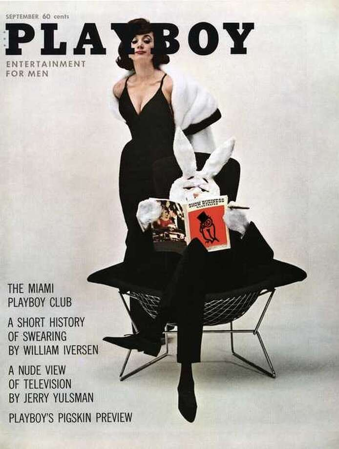 The Playboy magazine cover from September 1961.