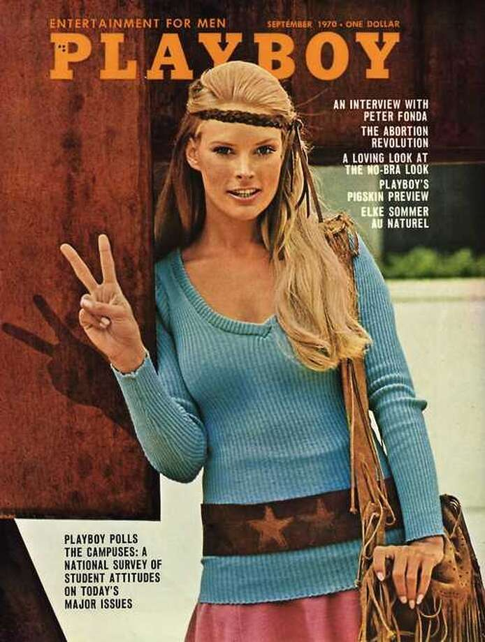 The Playboy magazine cover from September 1970.