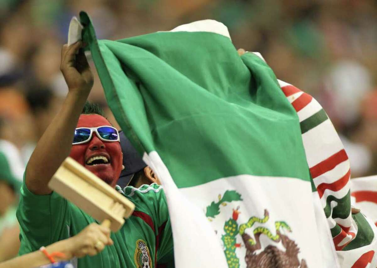 The Mexican national team is known for its ability to draw a crowd in Houston.