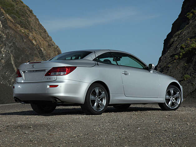 2012 Lexus IS 350C (photo courtesy Lexus)