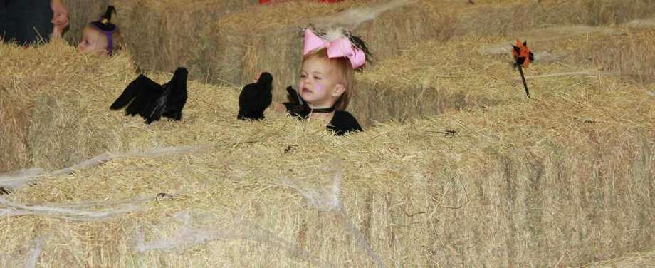 COURTESY CITY OF DEER PARK MAZE OF DELIGHT: Deer Park's annual Halloween Carnival will once again include children's hay maze with prizes for those who make it through the stacks. Photo: COURTESY