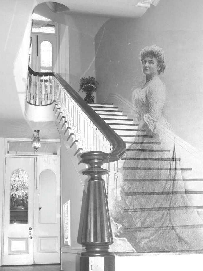 """COURTESY GALVESTON HISTORICAL FOUNDATION SUPERNATURAL: The spirit of """"Miss Bettie,"""" the daughter of the house's first owner, James Moreau Brown, reportedly haunts historic Is Ashton Villa in Galveston. The above photo is an artistic representation of the apparition some visitors have reported seeing in the home. Photo: Galveston Historical Foundation"""