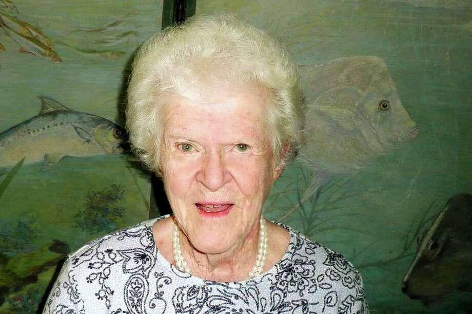 Eugenia Hotchkiss speaks to Seniority. Photo: Anne W. Semmes