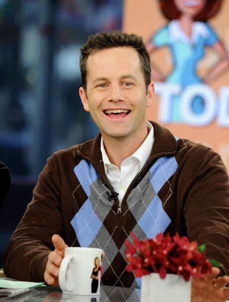 "In this photo provided by NBC Universal, actor Kirk Cameron co-hosts on NBC's ""Today"" show as part of Hollywood Heartthrobs week, in New York, on Tuesday, March 16, 2010. (AP Photo/NBC, Peter Kramer) Photo: Peter Kramer / NBC Universal"