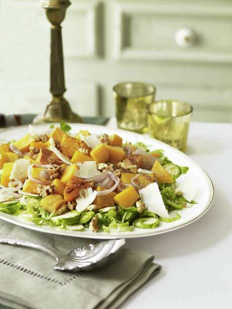 Good Housekeeping recipe for Roasted Squash with Walnuts Photo: KATE MATHIS
