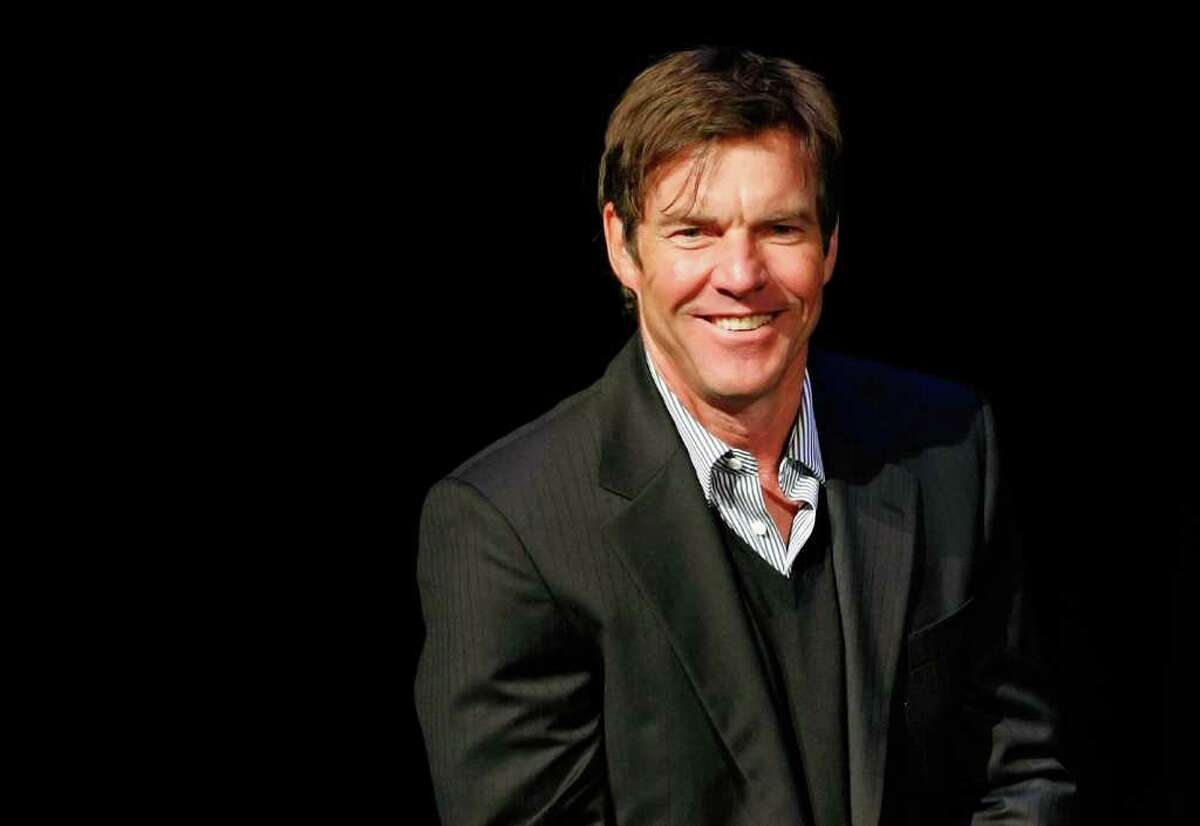 Actor Dennis Quaid, who has a new film