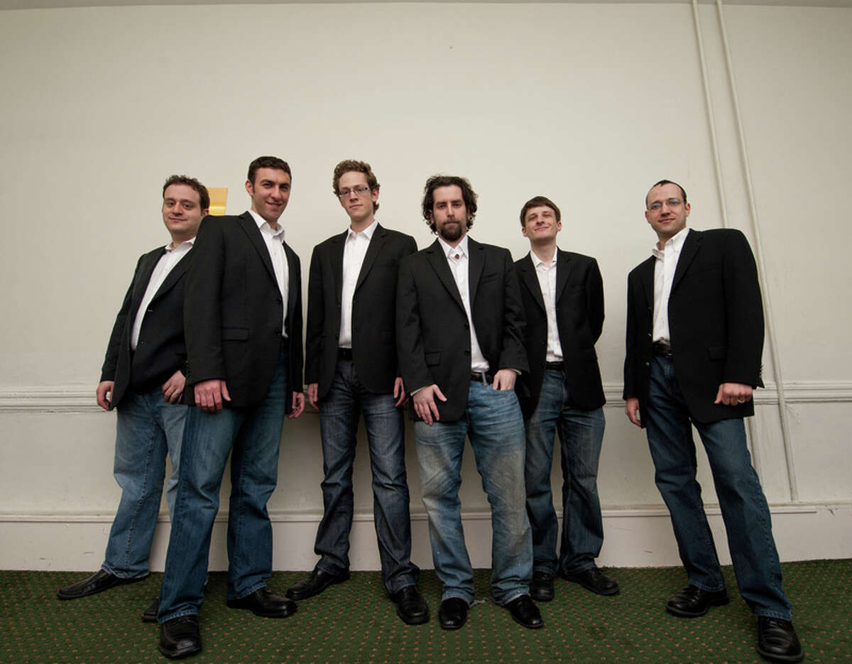 Six13, a Jewish a cappella group, performs Oct. 26 at Fairfield University, one of several concerts throughout the world in honor of the slain journalist Daniel Pearl.