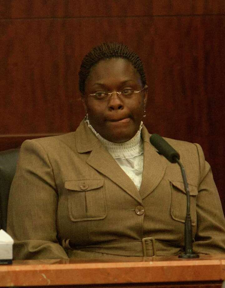 Tyonne Palmer, 32,  was convicted of tampering with evidence and murder. Photo: Cody Duty / © 2011 Houston Chronicle