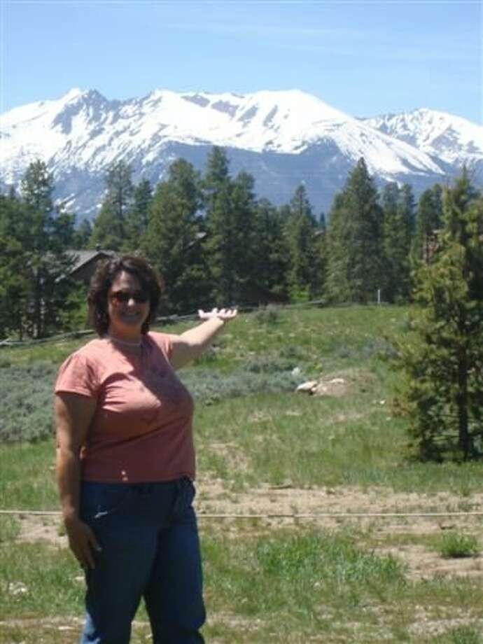 Courtesy photo THE GREAT OUTDOORS: Linda Ryan, a fifth-grade science and social studies teacher at Northampton Elementary, spent a week this summer at the Key Issues Institute in Colorado.  She learned how to present environmental issues to her students. Photo: Submitted