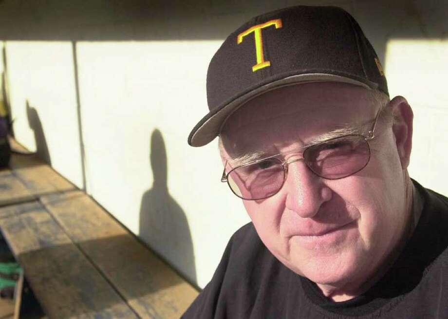 Long time Trumbull baseball coach, Jerry McDougall has died. Photo: Paul Desmarais, File Photo / Stamford Advocate
