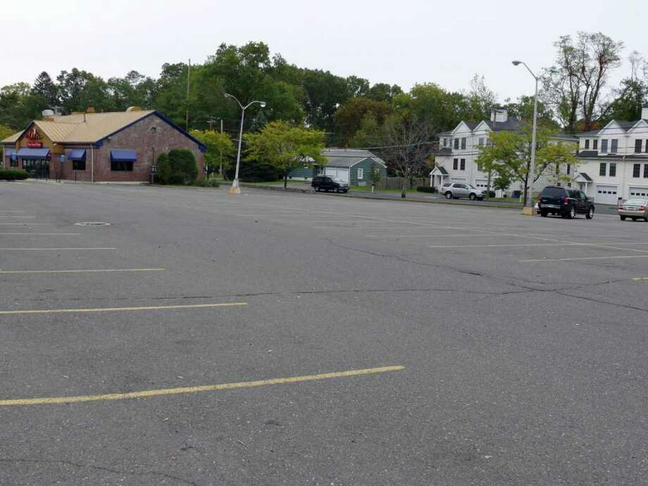 The Town Plan and Zoning Commission approved the temporary use of a parking lot on Tunxis Hill Cutoff for Christmas tree sales. Photo: Genevieve Reilly / Fairfield Citizen