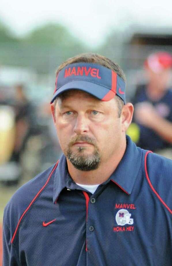 Manvel head football coach Kirk Martin Photo: L. Scott Hainline / For The Chronicle