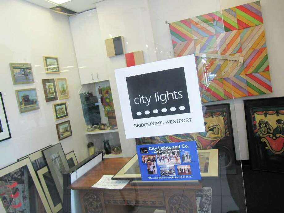Dragone Classic Autos, 176 Post Road W., is now home to City Lights West, the satellite gallery space of City Lights and Co., a Bridgeport-based art gallery and community arts organization. City Lights West will celebrate its opening on Oct. 15 from 6:30 p.m. to 9:30 p.m. Pictured is the front area of City Lights West. A larger gallery space is located at the rear of the Dragone facility. Photo: Kirk Lang