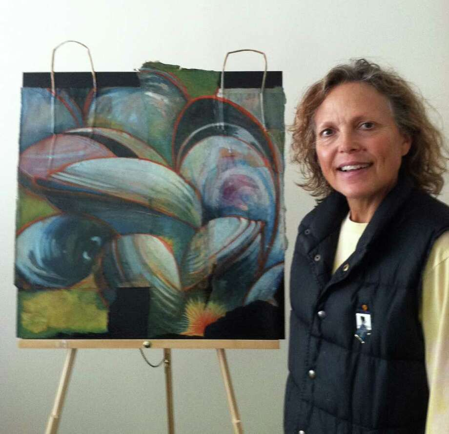 Lynn Stephens Masseyís artwork will be on display at the Bank during the month of October. Photo: Contributed Photo