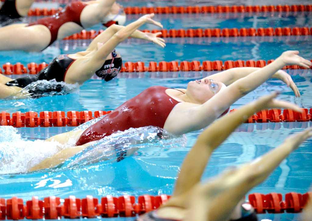 Raw swim team