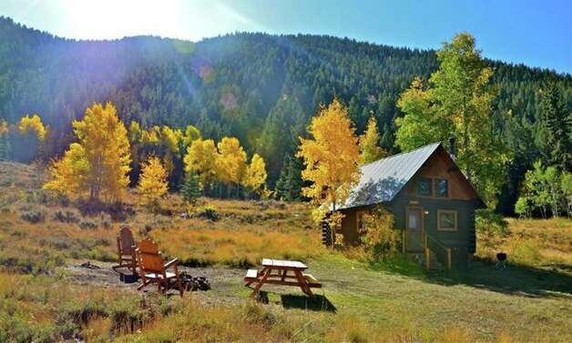 At Pioneer Guest Cabins residents find themselves in nestled in the heart of Gunnison National Forest as soon as they step outside.  Pete Holley photo