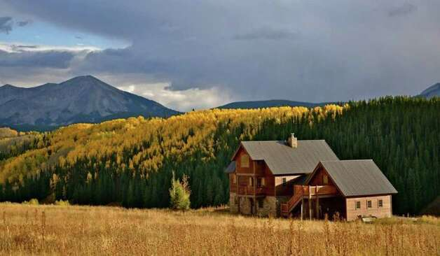 A drive in the hills around Crested Butte reveals scenes of fall bliss, like this house a few minutes outside downtown. Pete Holley photo