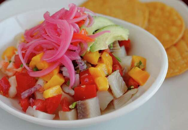 Ceviche from Vida Mia. Photo: Kin Man Hui, SAN ANTONIO EXPRESS-NEWS / San Antonio Express-News