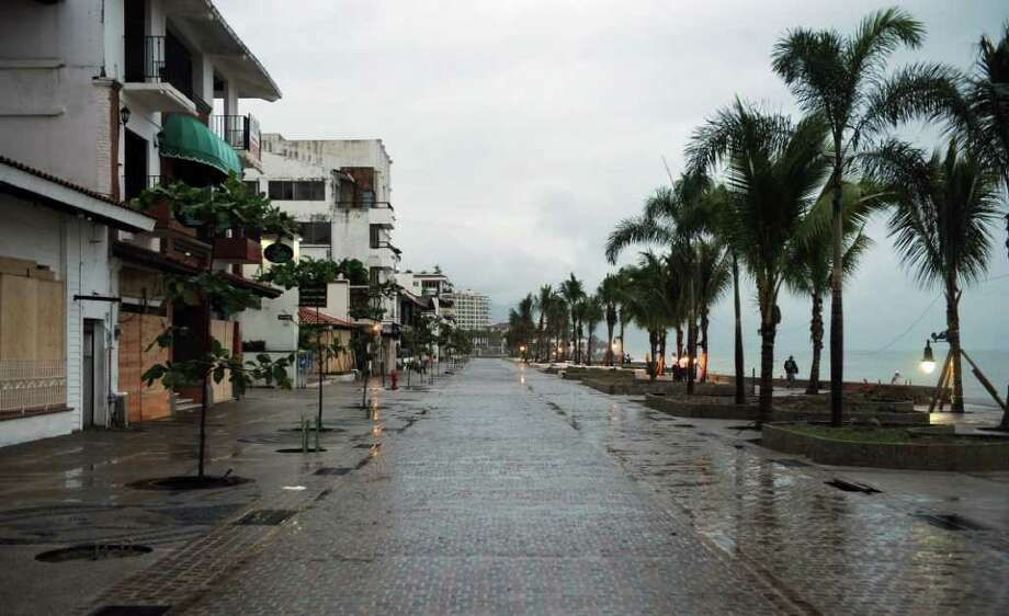View of  the seafront in Puerto Vallarta, Jalisco State, Mexico on October 12, 2011. Photo: HECTOR GUERRERO, Getty / AFP