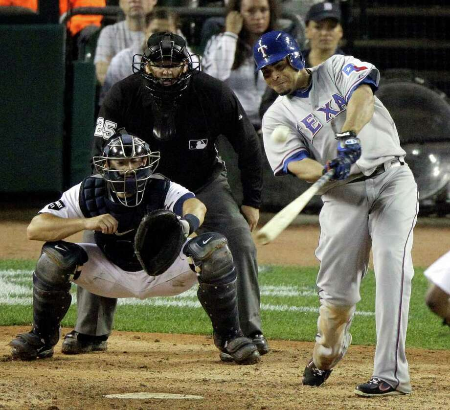 Game 4: Rangers 7, Tigers 3 (11 innings) (Rangers 