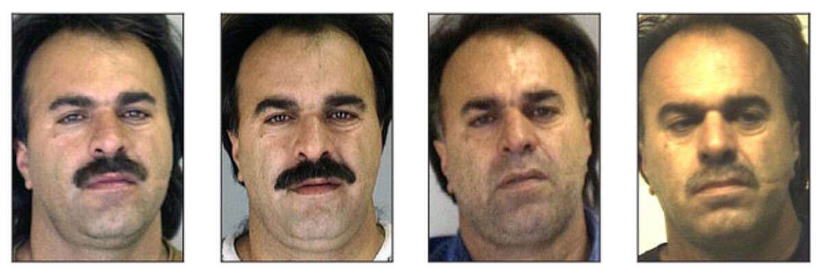 Manssor Arbabsiar is not an unfamiliar figure to police. These are mug shots of him from 1993 (from left), 1996, 2001 and 2004.