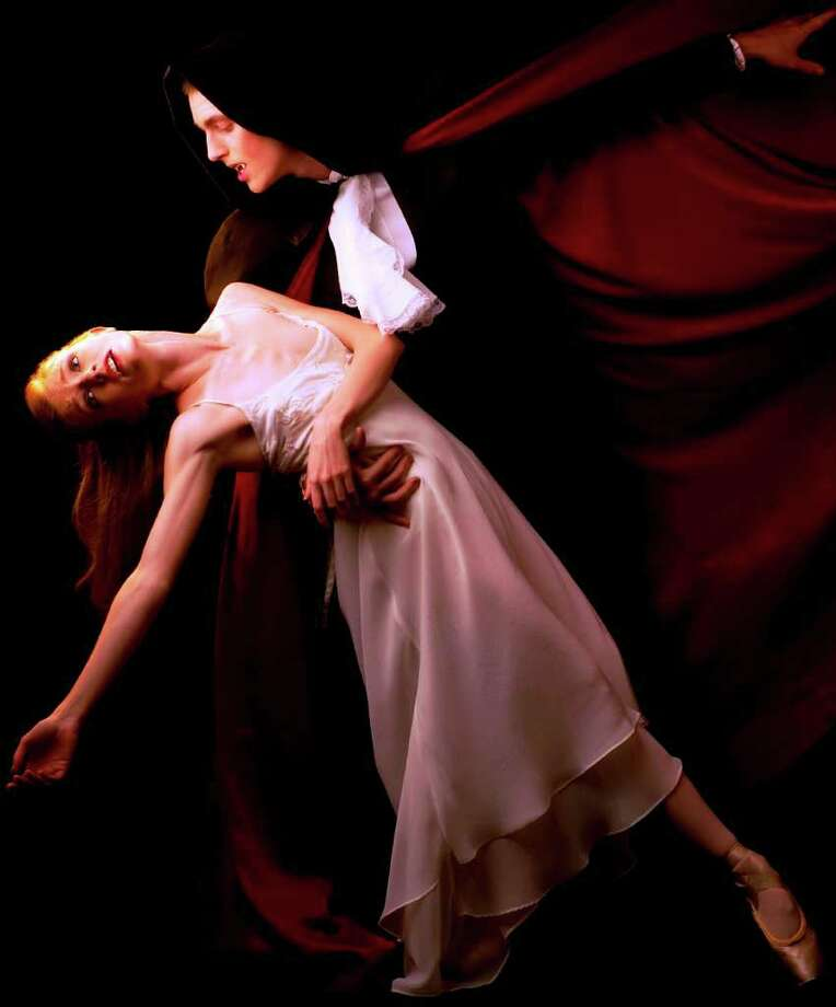 "San Antonio Ballet's production of ""Dracula"" makes its debut Friday and Saturday at Lila Cockrell Theatre. STILL LIFE PHOTOGRAPHY BY ALEXANDER DEVORA Photo: Still Life Photography By Alexander Devora"