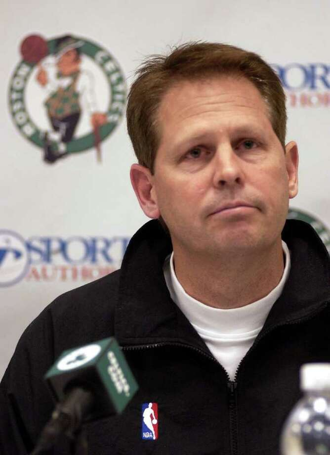Former basketball player and coach Danny Ainge belongs to the LDS church and currently holds a position as the Boston Celtics' executive vice president. Photo: ADAM HUNGER, AP / AP