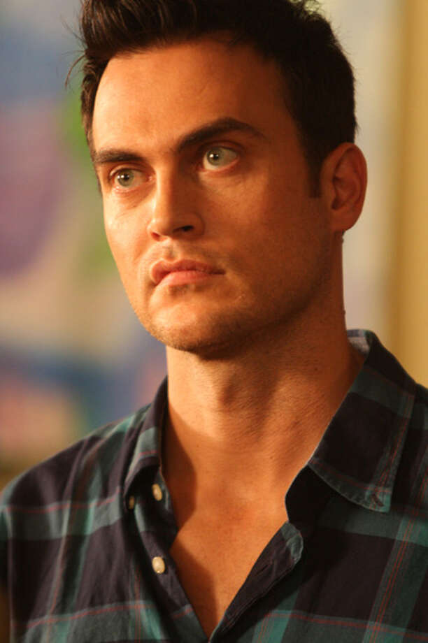 "Broadway leading man Cheyenne Jackson stars in the new independent film ""The Green"" which was shot in Guilford. Photo: Contributed Photo"