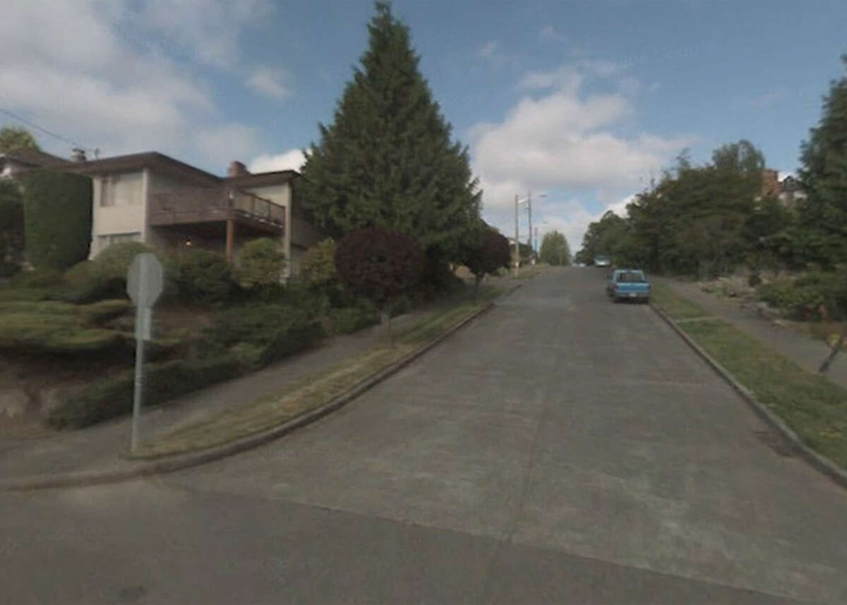 No. 18: South Cooper Street between 64th and 65th avenues south in Rainier Beach has an 18 percent grade.