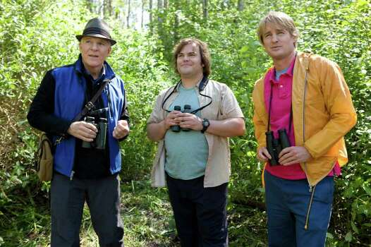 20TH CENTURY FOX of a feather: Steve Martin, from left, Jack Black and Owen Wilson are on a quest to spot the most wild birds. Photo: Murray Close / 20th Century Fox