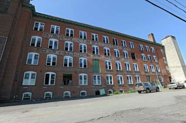 Exterior of an old warehouse at 31 Ontario St. in Cohoes, N.Y. which is being renovated into 40 luxury loft apartments called the Van Schaik Lofts Monday, Sept. 26, 2011. (Lori Van Buren / Times Union) Photo: Lori Van Buren