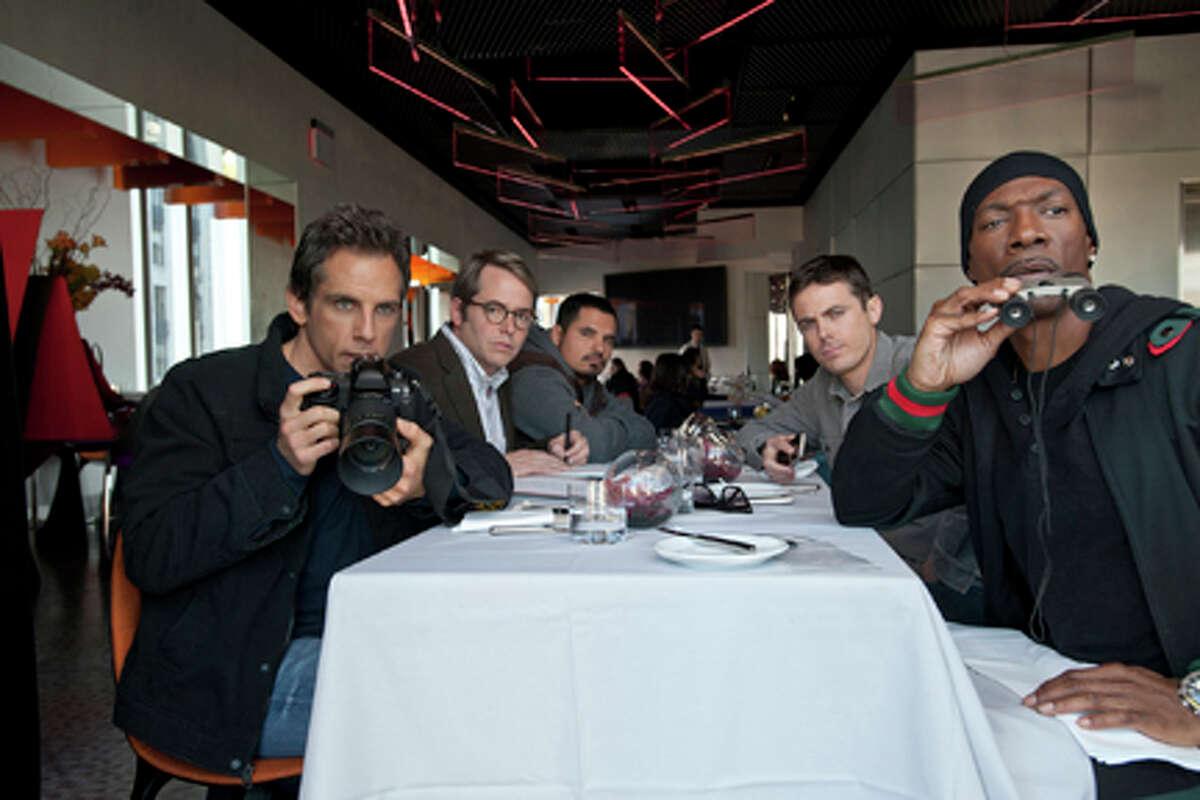 (L-R) Ben Stiller as Josh Kovacs, Matthew Broderick as Chase Fitzhugh, Michael Peña as Rick Malloy, Casey Affleck as Cole Howard and Eddie Murphy as Slide in