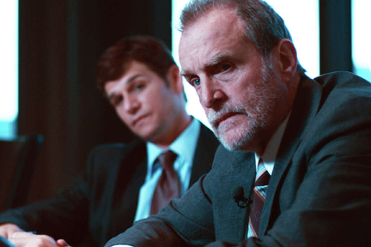 (L-R) Mark Kassen as Paul Danziger and Marshall Bell as Jeffrey Dancort in