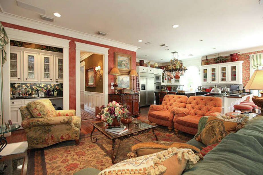 The family room is designed with a wide-open feel for maximum comfort and relaxation.