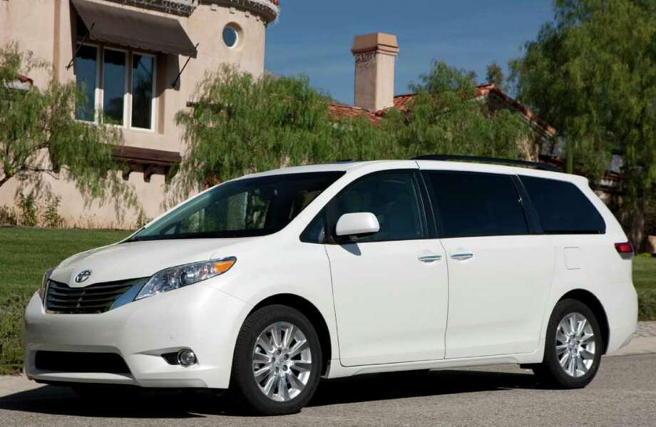 Toyota's popular Sienna minivan, redesigned just last year, seats up to eight people and comes with either a four- or six-cylinder engine. COURTESY OF TOYOTA MOTOR SALES U.S.A. Photo: Toyota Motor Sales U.S.A., COURTESY OF TOYOTA MOTOR SALES U.S.A.
