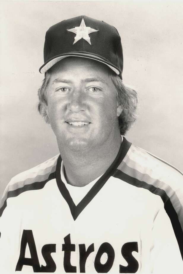 RHP Dave Smith - Died of a heart attack in 2008 (Courtesy of Houston Astros)