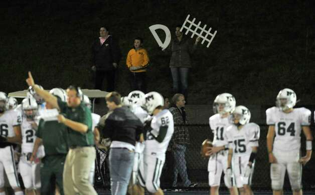 Scenes from the Newtown vs. New Milford football game at Newtown High School on Friday, Oct. 14, 2011.  Newtown won 37-14. Photo: Jason Rearick / The News-Times
