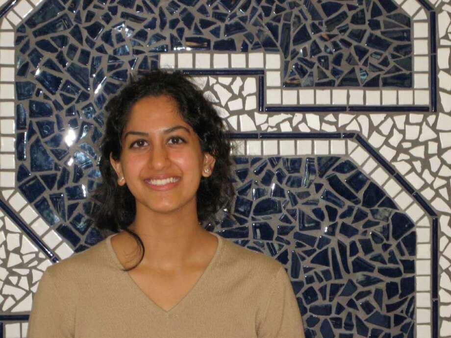Staples High School senior Ash Nataragan has done biological research at the university level but has far broader interests than just genes and cells. Photo: Contributed Photo / Westport News