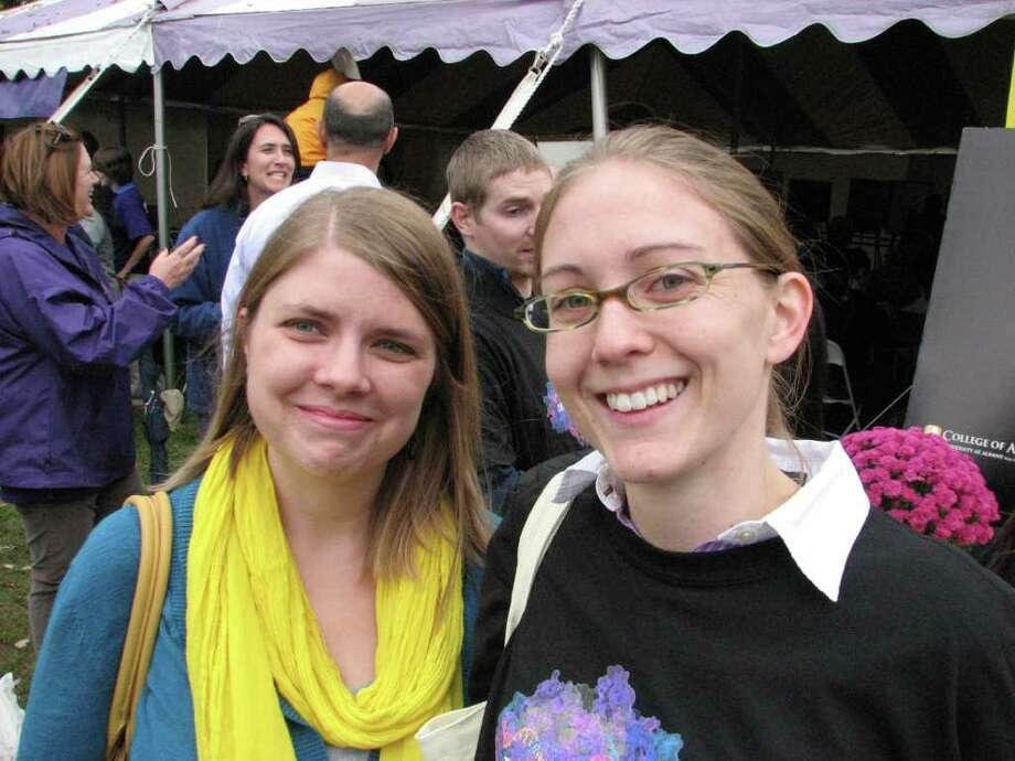 Were you Seen at FALLBANY, U Albany's fall festival? Photo: Kristi Gustafson Barlette/Times Union