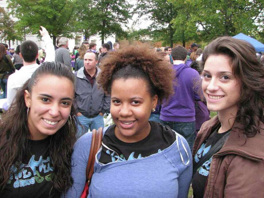 Were you Seen at FALLBANY, U Albany's fall festival? Photo: Kristi Gustafson Barlette/Times Union