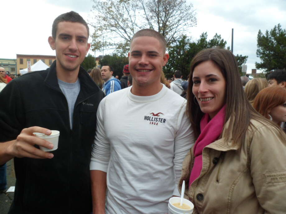Were you SEEN at Chowderfest in Troy, NY? Photo: Leann Hlebica / COPYRIGHT, 2011