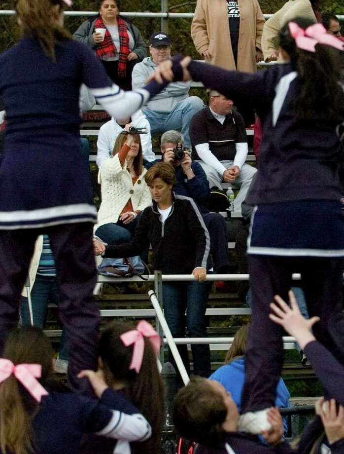 Highlights from the Joel Barlow vs. Immaculate football game at Joel Barlow High School in Redding on Saturday, Oct. 15, 2011.  Barlow won 48-12. Photo: Jason Rearick / The News-Times