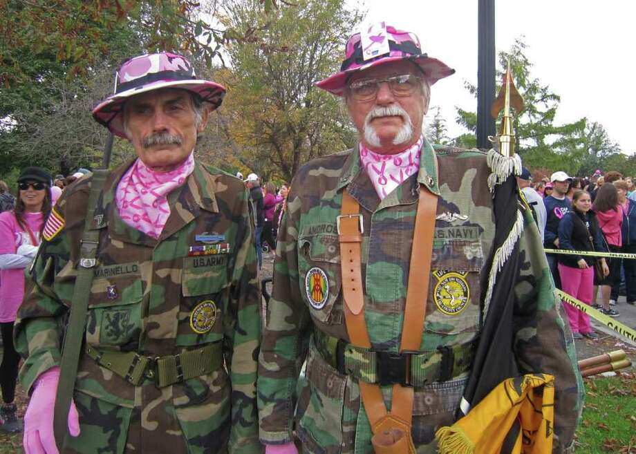 Were you Seen at the Making Strides Against Breast Cancer Walk on Sunday, Oct. 16, in Albany? Photo: Jennifer O'Connor