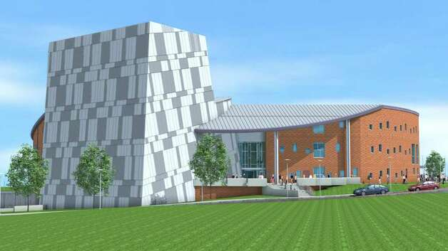 An artist rendering of the new Visual and Performing Arts Center at Western Connecticut State University. Photo: Contributed Photo