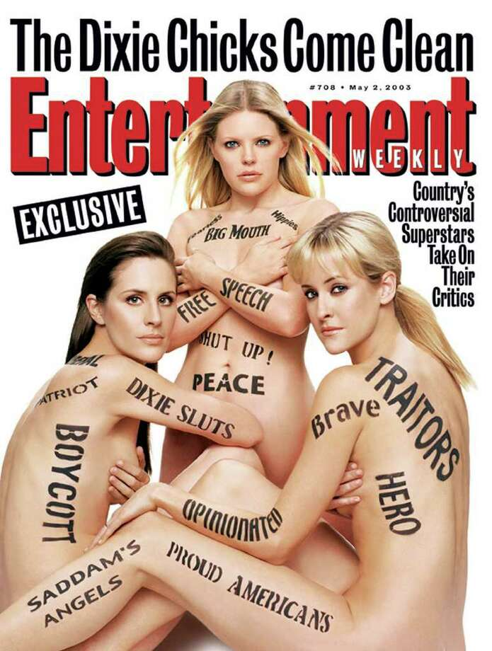 Here are the Dixie Chicks on the cover of a magazine.  Photo: AP / ENTERTAINMENT WEEKLY