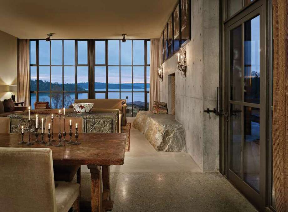 "The Pierre, designed by Seattle Architect Tom Kundig, on Lopez Island, Wash. 2010. The home won Kundig the 2011 World Architecture News House of the Year Award. From the book ""Tom Kundig: Houses 2."" Related story Photo: Benjamin Benschneider/Olson Kundig Architects/Publisher Princeton Architectural Press"